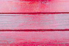 Vecchia struttura di legno rossa delle plance Priorità bassa dell'albero batten Fotografia Stock Libera da Diritti