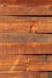 Vecchia struttura di legno rustica del fondo della plancia Fotografia Stock