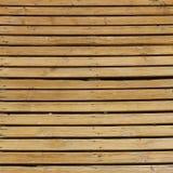 Vecchia struttura di legno rustica del fondo della plancia Fotografie Stock Libere da Diritti
