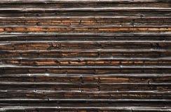 Vecchia struttura di legno scura Fotografia Stock