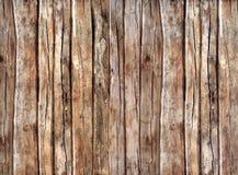 Vecchia struttura di legno scura con i reticoli naturali Fotografia Stock