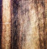 Vecchia struttura di legno scura, fondo naturale d'annata della quercia con wood Immagini Stock Libere da Diritti