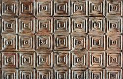 Vecchia struttura di legno stagionata della porta Immagine Stock