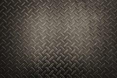 Vecchia struttura di piastra metallica arrugginita Fotografia Stock