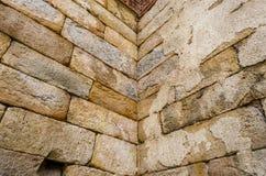 Vecchia struttura di pietra Immagini Stock Libere da Diritti