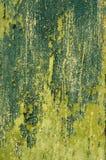 Vecchia struttura dipinta incrinata. Fotografia Stock Libera da Diritti