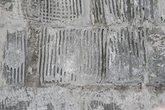 Vecchia struttura grungy, muro di cemento grigio Struttura della priorità bassa Fotografie Stock Libere da Diritti