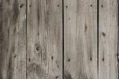 Vecchia struttura imbarcata di legno del fondo Fotografia Stock