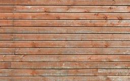 Vecchia struttura marrone di legno della parete Fotografie Stock