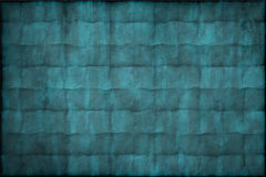 Vecchia struttura o priorità bassa del documento blu dell'annata fotografia stock