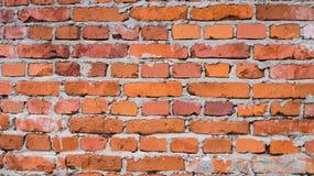 Vecchia struttura rossa del muro di mattoni Immagini Stock Libere da Diritti