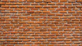 Vecchia struttura rossa del muro di mattoni, vecchio fondo del mattone macchiato Weathered fotografie stock libere da diritti
