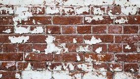 Vecchia struttura vuota del muro di mattoni Fotografia Stock