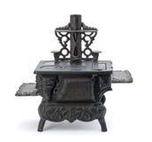 Vecchia stufa miniatura Immagine Stock Libera da Diritti
