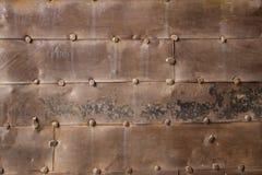 Vecchia superficie del ferro Immagini Stock Libere da Diritti