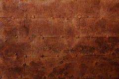 Vecchia superficie del ferro Immagini Stock