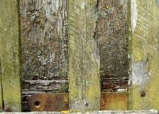Vecchia superficie di legno Immagini Stock