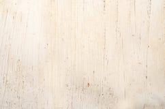Vecchia superficie di legno bianca rustica della tavola Fotografie Stock