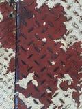 Vecchia superficie di metallo Fotografie Stock Libere da Diritti