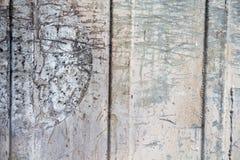 Vecchia superficie di metallo Fotografia Stock