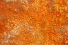 Vecchia superficie di metallo arrugginita. Variante due. Fotografia Stock Libera da Diritti