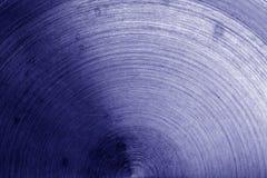 Vecchia superficie di metallo con i graffi nel tono blu Immagini Stock Libere da Diritti