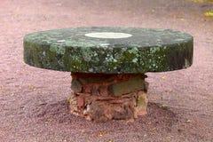 Vecchia tabella di pietra Immagine Stock Libera da Diritti