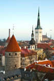 Vecchia Tallinn immagine stock libera da diritti