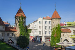 Vecchia Tallinn Fotografie Stock