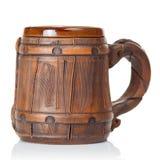Vecchia tazza di birra dell'argilla Immagini Stock