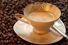 Vecchia tazza di caffè   Immagine Stock