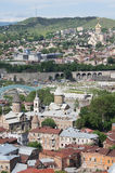 Vecchia Tbilisi Immagini Stock