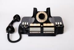 Vecchia tecnologia del vecchio telefono Immagine Stock Libera da Diritti