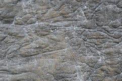 Vecchia tela sporca di gray di lerciume Fotografie Stock Libere da Diritti