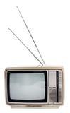 Vecchia televisione Fotografie Stock Libere da Diritti