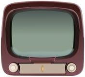 Vecchia televisione Fotografia Stock Libera da Diritti