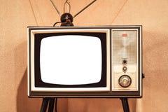 Vecchia televisione immagine stock libera da diritti