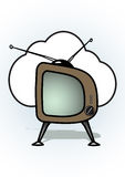 Televisione Fotografia Stock Libera da Diritti