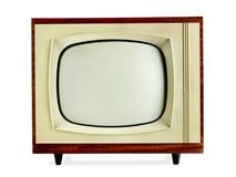 Vecchia televisione dell'annata Fotografia Stock