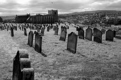 Vecchia terra di sepoltura Immagine Stock Libera da Diritti
