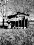 Vecchia tettoia fotografie stock
