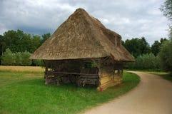 Vecchia tettoia. Fotografia Stock