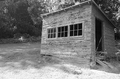Vecchia tettoia Immagini Stock