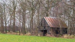 Vecchia tettoia abbandonata Immagine Stock Libera da Diritti