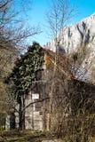 Vecchia tettoia - gola di Turda - Cheile Turzii, la Transilvania, Romania Fotografia Stock