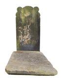 Vecchia tomba in un cimitero fotografia stock libera da diritti