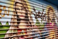 Vecchia tonalità di finestra Fotografie Stock Libere da Diritti