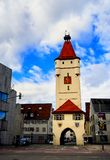 Vecchia torre in Biberach un der Ris Germania Immagine Stock