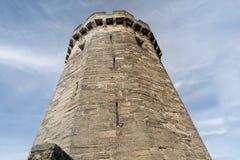 Vecchia torre britannica Immagini Stock