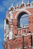 Vecchia torre del monastero di Don Icon a Mosca Immagine Stock